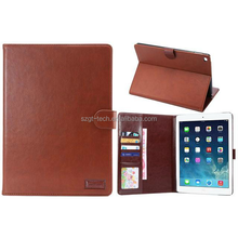 New Design 9.7 inch Leather flip Case For Ipad Air 2/Tablet Case/For Ipad air 2 Leather stand Case