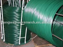 Plastic Coated Iron Wire(Factory)