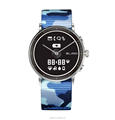 E-ink display Japanese quartz movement smart watch with pedometer and heart rate and sleep monitor fitness functions