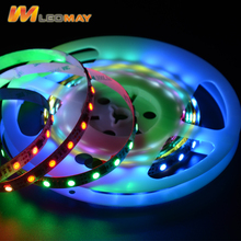 Digital Addressable 60LED/m 12V SMD5050 WS2811 Full Color RGB Magic LED Strip Light