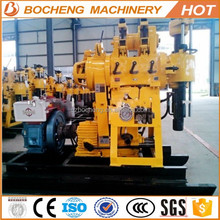 cheap 300m bore hole portable rotary deep rock well drilling for sale