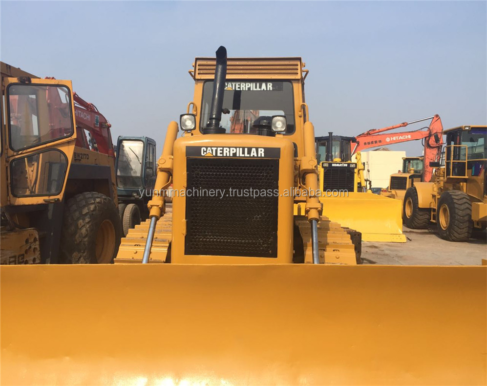 Used D6D bulldozer and stable performance,D6H, D6R, D6G bulldozer