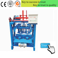 YL4-35 Concrete Raw Materials Hollow Block & Brick Machine Factory Price