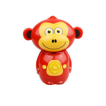 ABS plastic cute Monkey shaped MP3 players with 6 buttons