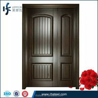 Mother-Son solid wood door made in China Foshan