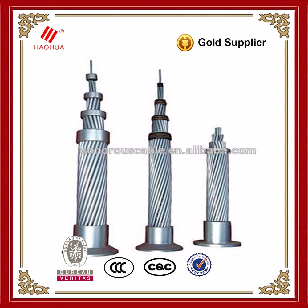 No.0749- Factory price acsr cable Gopher Bear Wolf ACSR Zebra conductor specification