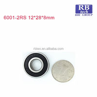 WUXI RB TECH BRAND High Quality Deep Groove Ball Bearing Mini Segway Deep Groove Ball Bearing 6001-2RS for Medicine Equipment