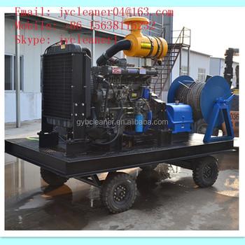 High Pressure Sewer Jetter Hydro Jetting Equipment Drain