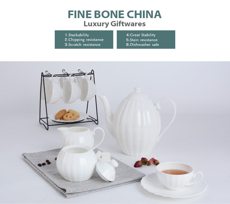 Import export antique fine bone china porcelain dining plate set with bowl and mug
