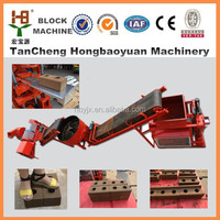 sy1-10/wt1-10 Fully automatic clay brick manufacturing plant,interlocking mud block machine for sale