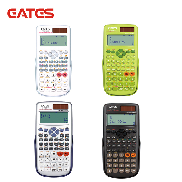FX-991ES Plus 417 Functions High Tech Multifunction Dual Power Scientific Calculator