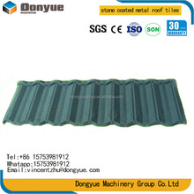 Corrugated Different Types of Roof Tiles Roof Covering for Villas,stone coated metal roofing tile