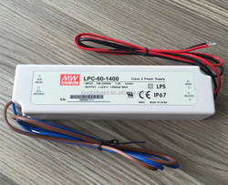 LPC-60-1400, Original MEAN WELL IP67 Constant Current LED Driver