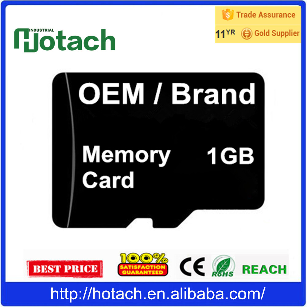 OEM Factory TF Card 1GB Price Memory Card 1 GB