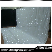 wedding decoration LED lighting cloth white star cloth with factory price