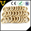 Unfinished Wood Round Dome Bracelets Diameter Large Wide Bangles Blanks Wood DIY Jewelry China