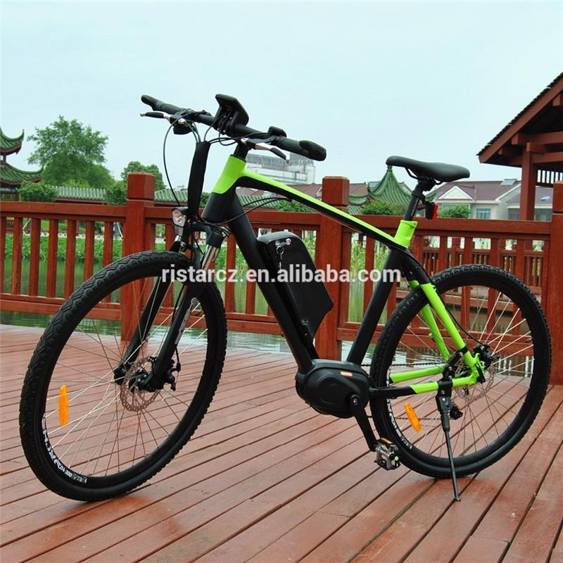 2016 New model mid motor drive mountain electric bike bicycle