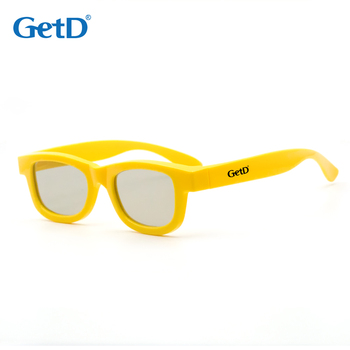 Reusable Passive Circular Polarized 3D glasses for 3D Cinema model G01G