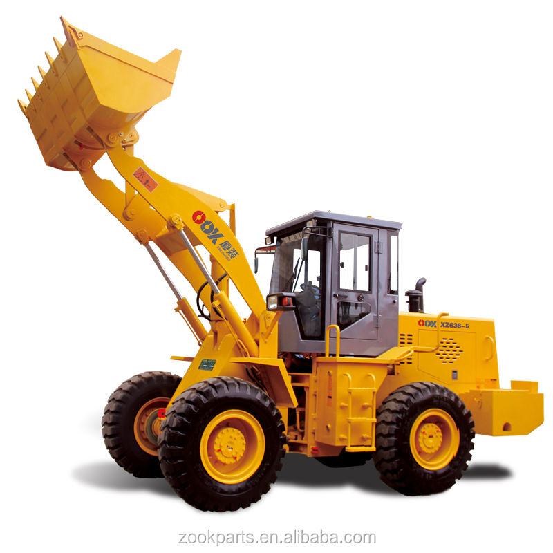 China professional manufacture 3ton bucket wheel loader XZ636-5 for sale