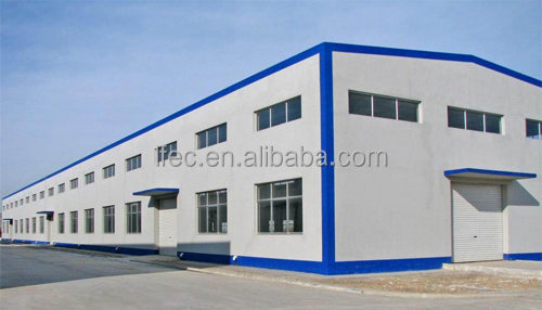 Corrugated Steel Industrial Shed for Metal Building