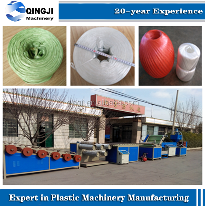 Rope/String Monofilament Making Plastic Machine