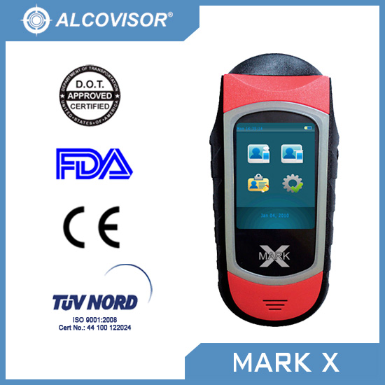 US DOT Evidential Approved Professional Alcohol Tester | Breathalyser - MARK X
