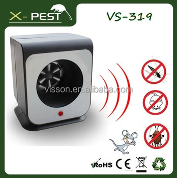 X-pest VS-319 For good life Speaker electronic ultrasonic most effective fly rat insect pest cockroach repellent