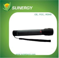 low cost 7ED and 1000MAH solar energy cheap solar torch