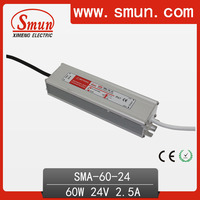 60W 24V LED Driver Constant Current Power Supply SMA-60-24
