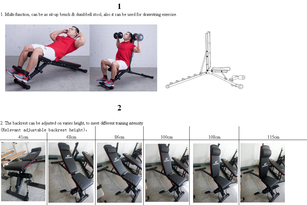 New hot sales quality Dumbbell Bench Weight bench