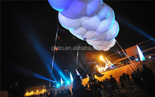 Inflatable cloud for stage decoration