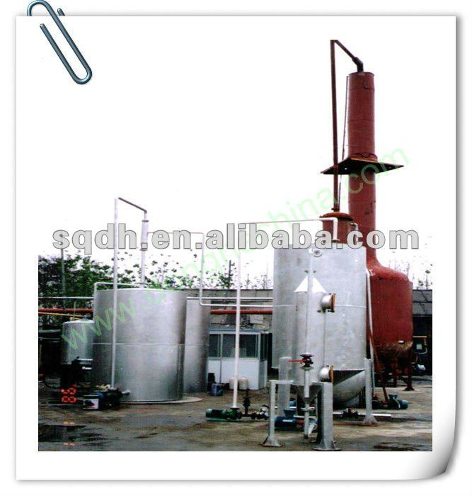 fractional distillation waste products