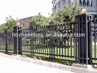 Hot Sale!!!Security wrought iron fence(SGS FACTORY)