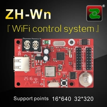 LED Wifi Display Control Card, Zhonghang-Wn p10 rgb LED Display Software