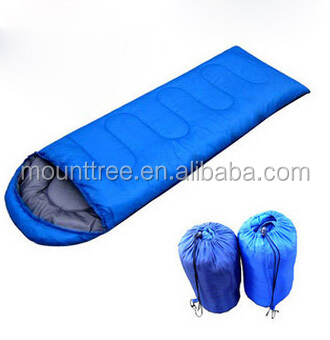 Hot Selling Professional High Quality Customized Three Seasons Traveling Camping Polyseter Cotton Sleeping Bag