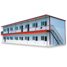 customized structural steel factory,used steel structure warehouse dormitory,two story house building for living&storing