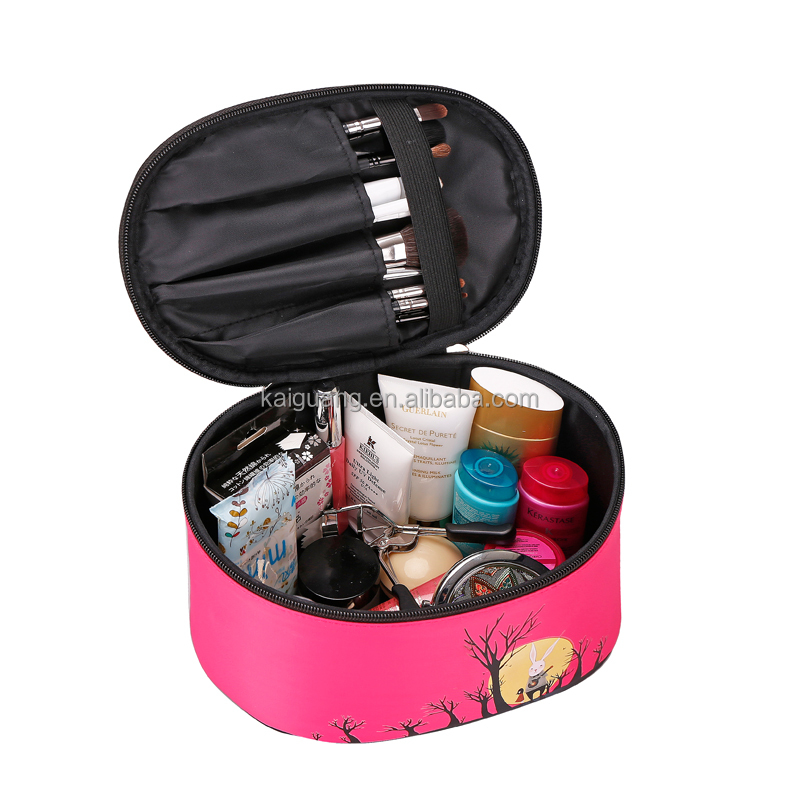China Supplier Online Shopping Nylon Promotional Cosmetic Bag makeup organizer