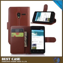 New Arrival Back Case For Sony xperia ray st18i Flip Leather Back Cover