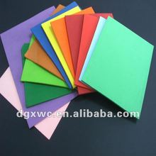 color eva packing foam glitter sheets
