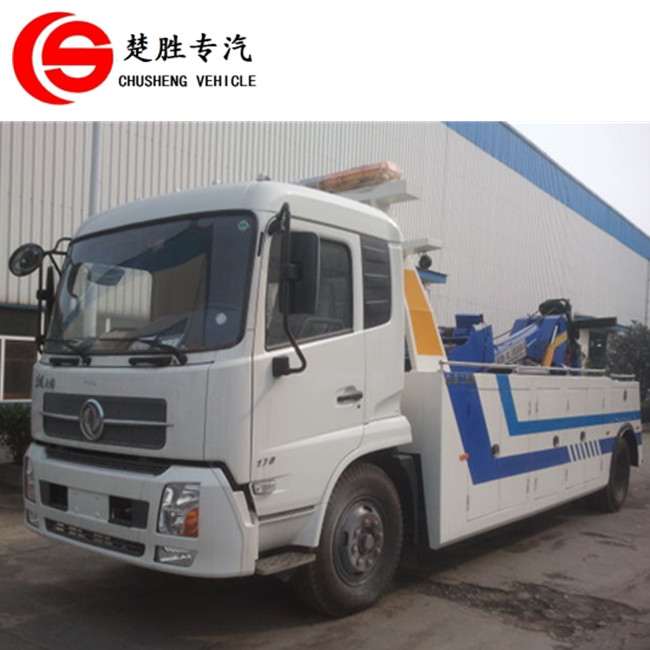 Dongfeng tow truck hydraulic cylinder road recovery truck