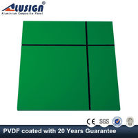 Alusign 5mm aluminum composite panel of external tongue and groove wall cladding