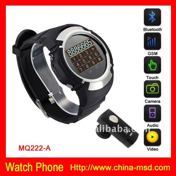 2012 New super thin factory camera fuction Watch Phone
