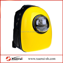 Capsule Pet backpack, transparent breathable Pet carrier bag
