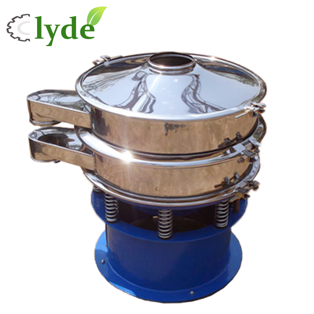 specialized production Stainless steel round vibration separator for chemical