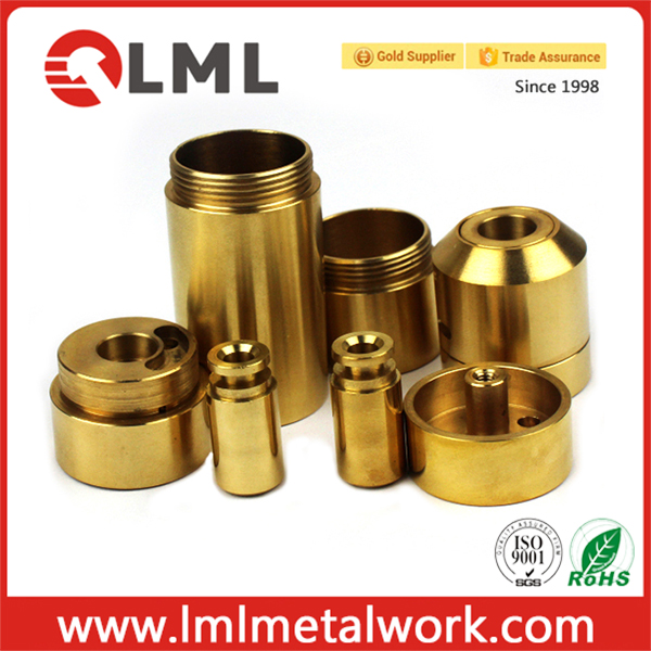 Custom Small Brass CNC Turning Parts For Machine Part