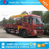 Telescopic boom truck mounted crane with 15 tons, hiab crane truck