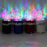 Hot sale led disco light bluetooth speaker