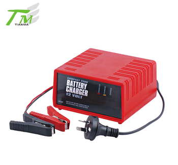 Portable 12V car battery charger multifunction car charger lead acid battery charger