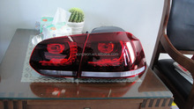 hot sale car LED tail/rear/back lamp for vw golf 6 R20 /MK6/GTI