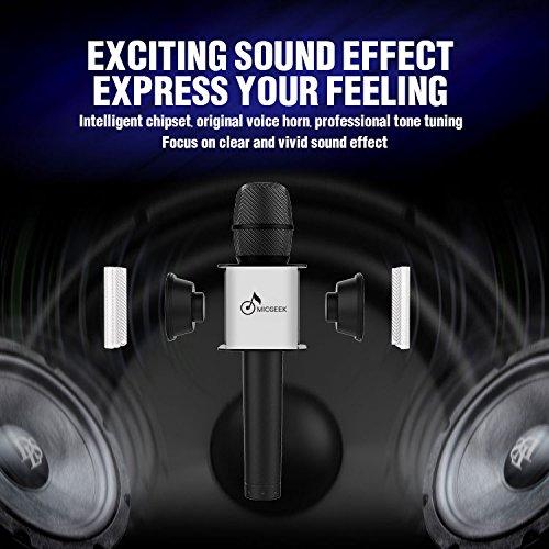 microphone karaoke Wireless KARAOKE Microphone bt Speakers Portable Handheld Speaker Q7 Q9 WS858 wireless mic singing mic for